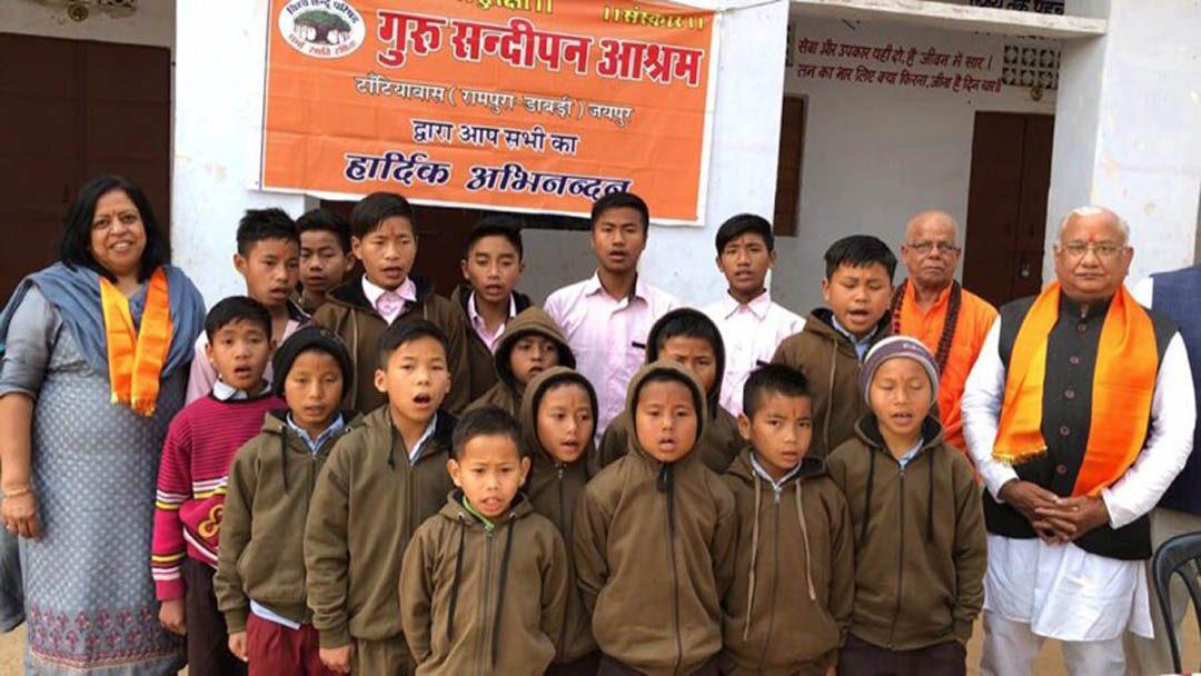 SAC Bharatiya Jan Seva Pratisthan Tantiawas Hostel Visit