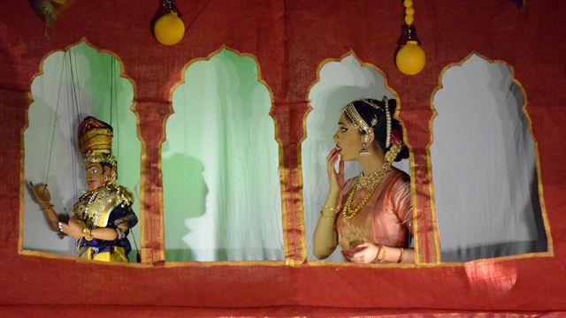 SAC Dhaatu Puppet Show