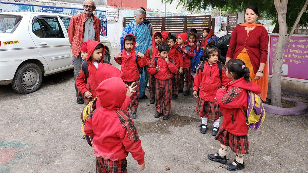 Visiting Matra Anchal Kanya Vidya Peeth Haridwar