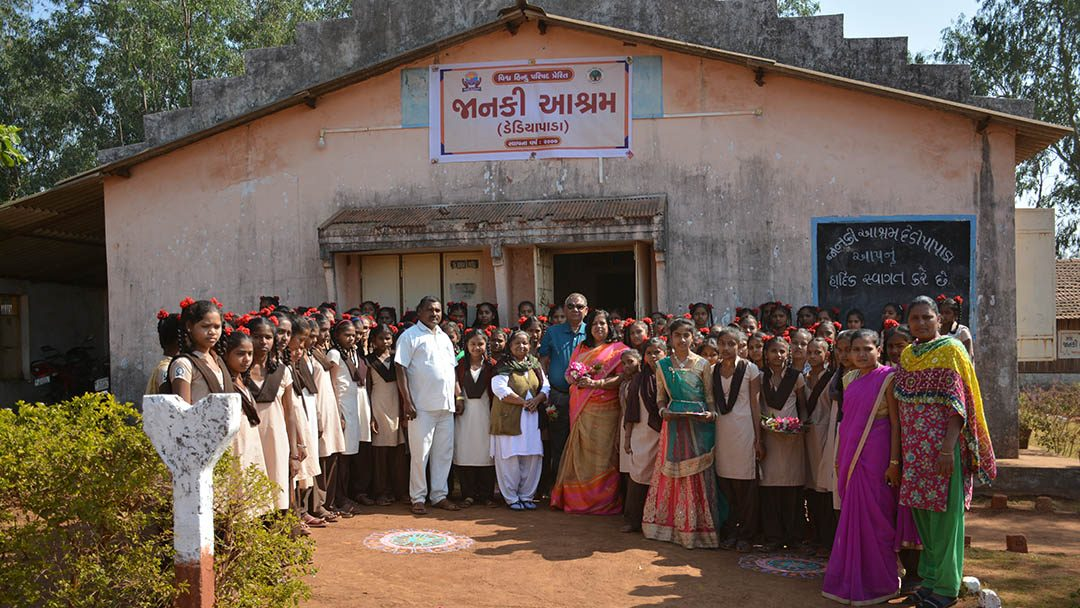 Visiting Janki Ashram Dediapada Gujarat