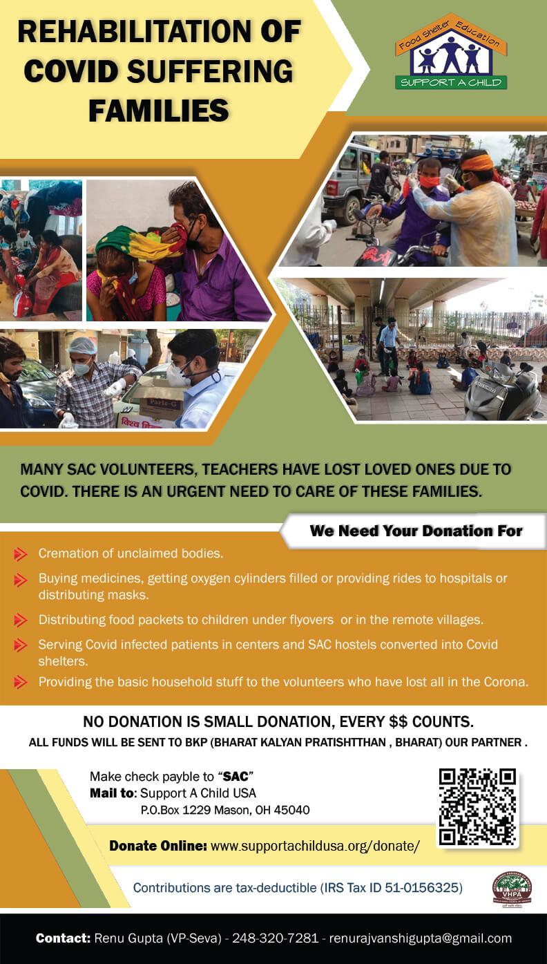 SAC Donate for Corona